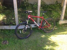 Nearly New Voodoo Mountain Bike