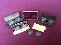 Vintage spectacles & cases