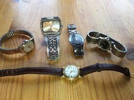 Watch bundle vintage fashion ladies