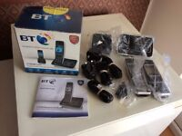 BT 6500 twin digital cordless 'phone set with answer machine and call blocker facility. Brand new.