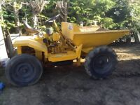 Thwaites Dumper with hydraulic tip
