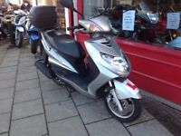 YAMAHA XC 125 CYGNUS X FANTASTIC CONDITION DELIVERY CAN BE ARRANGED