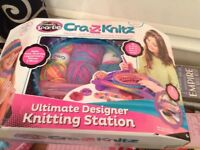 Cra.z.knitz designer knitting station