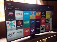 Samsung 55-inch UE55JU6500 CURVED Smart full 4K ULTRA HD LED TV,built in Wifi, PLS READ DESCRIPTION