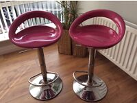 Two kitchen stools, excellent condition