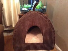 Dog/Cat bed dome - New never used