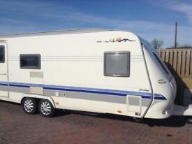 Hobby 650 2004/5 fixed bed caravan