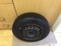 wheel & tyre for vauxhall corsa