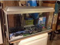 fish tank plus new and used accessories
