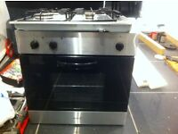 Electric oven and gas hob
