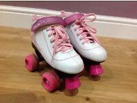 Girls SFR Vision Quad Roller Skates size 2