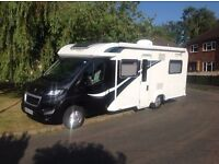 Motorhome Hire - 4 Berth Bailey Approach 745 - Farnborough, Hampshire (All year round)