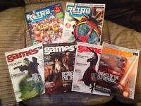 Games TM issues 1 to 4 and retro mags