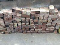 Reclaimed Armitage bricks (approx 360) £0.50 each