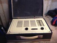"Vintage radio receiver "" Lady Margret"""