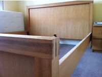 Super Kingsize Bed in Solid Oak