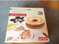 Baking Tin Set- never used