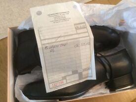 Tap dance shoes.Black