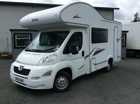 PEUGEOT BOXTER 333 ELDDIS AUTOQUEST MOTOR HOME, ONLY 18000 MILES FROM NEW