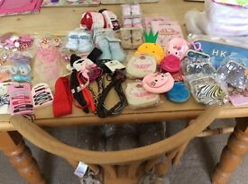 Joblot mixed .new. Baby & girls items ..