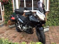 Suzuki DL1000 VSTROM excellent condition. Very low mileage. Sale due back injury.