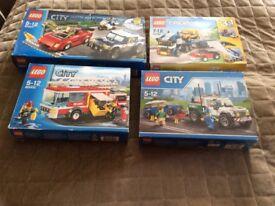 4 Lego sets