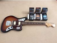 Fender jaguar classic player hh and effects pedals