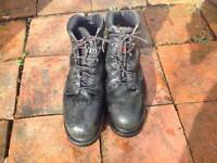 Timberland Pro Series Steel Toe Capped leather Boots - Size 12