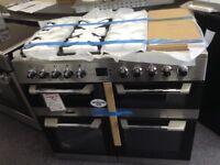 Leisure cuisinemaster 100cm stainless steel range. £799 new/graded 12 month Gtee