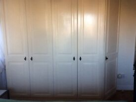 Fitted wardrobes made by Christie.