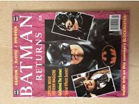 Batman returns magazines