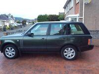 Range Rover Vogue 84,000 miles, 12 Mths MOT, Recent Full Service. 4x New Tyres. Excellent Condition