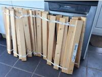 IKEA Double bed slats for sale