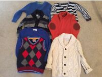 Boys knitwear bundle 2-3years