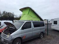 Mazda bongo pop up electric roof mot ready to go