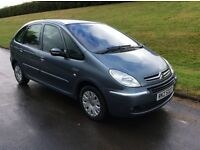 2006 CITROEN PICASSO 1.6i DESIRE * M.O.T FULL YEAR TO SEPTEMBER 2017 * * 68.000 GENUINE MILES *