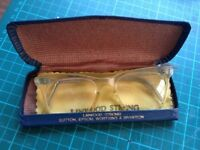 Retro and vintage glasses and case