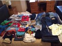 Massive bundle of boys 3-4 clothes72 items