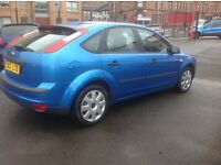 Ford Focus zetec 1.6 2005 facelift model only 70K FSH MOT ONE YEAR FREE 30 day/1000 mile warranty