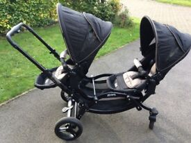 ABC Design Zoom Double Pushchair Reduced for quick sale