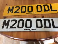 Millenium 2000 was this a memorable year for you...number plate on retention and ready to go