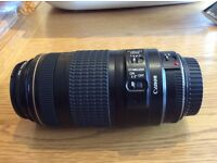 Canon EF 70-300mm Zoom Lens c/w Accessories
