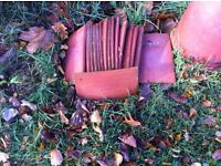 Roof tiles - New (Red) - CHEAP 15 p each! 3000 Available