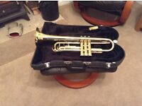 Second hand student Jupiter Bb trumpet