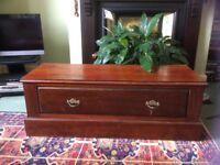 REDUCED Mahogany drawer
