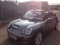 MINI Convertible 1.6 Cooper S Chill Pack with Sat Nav & F1 Paddle Shift & Heated Seat