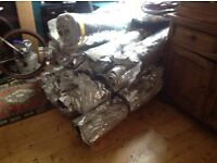 Triso insulation approx 33meters x 1.5, good condition, ideal loft conversion or van fit out.