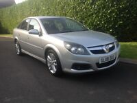 VAUXHALL VECTRA 1.9 CDTI 150 BHP DIESEL SRI 2008 SILVER GREAT BARGAIN HPI CLEAR 10 MONTH M.O.T