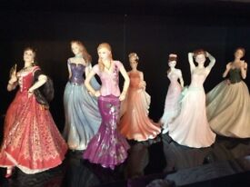 Collection of beautiful figurines