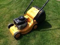 Lawnmower McCulloch petrol push rotary mower Briggs Stratton powered